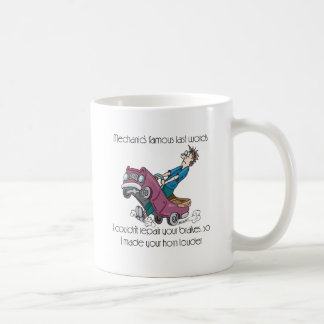 Auto Mechanic Made Horn Louder Coffee Mug