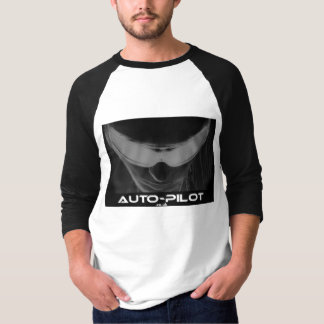 Auto-Pilot blackgaze black sleeve T-Shirt