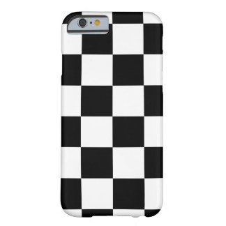 Auto Racing Chequered Checkered Flag Barely There iPhone 6 Case