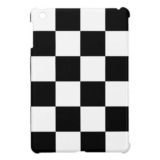 Auto Racing Chequered  Checkered Flag iPad Mini Cases