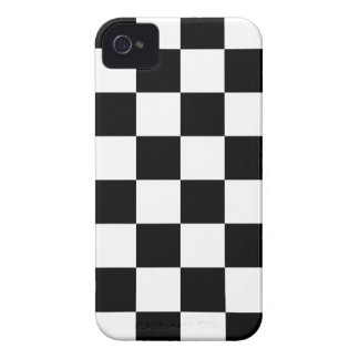 Auto Racing Chequered  Checkered Flag iPhone 4 Covers