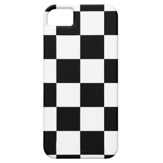 Auto Racing Chequered  Checkered Flag iPhone 5 Cover