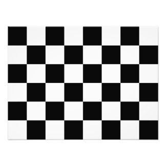 Auto Racing Chequered  Checkered Flag Photographic Print