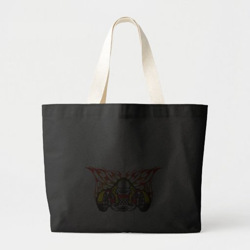 Auto Racing Gear Tote Bags