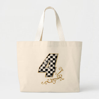 auto racing number 4 bags