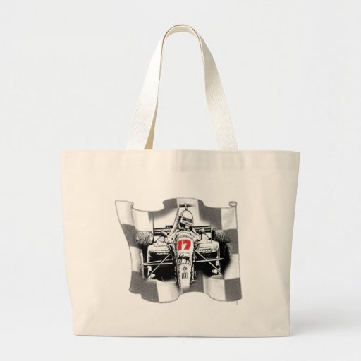 Auto Racing T Shirts and Gifts Canvas Bag
