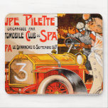 Auto Rally Race ~ Vintage Automobile Car Ad Mouse Pad