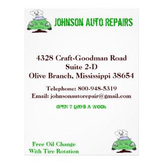 Auto Repair Flyer