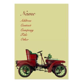 AUTO RESTORATION , AUTOMOTIVE, car repair garage Business Card