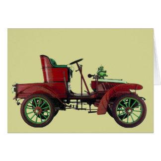 AUTO RESTORATION - AUTOMOTIVE GREETING CARD