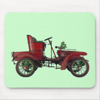 AUTO RESTORATION - AUTOMOTIVE,red white green Mouse Pads