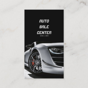 Used car sales business cards business card printing zazzle uk auto sale car dealership business card reheart Image collections