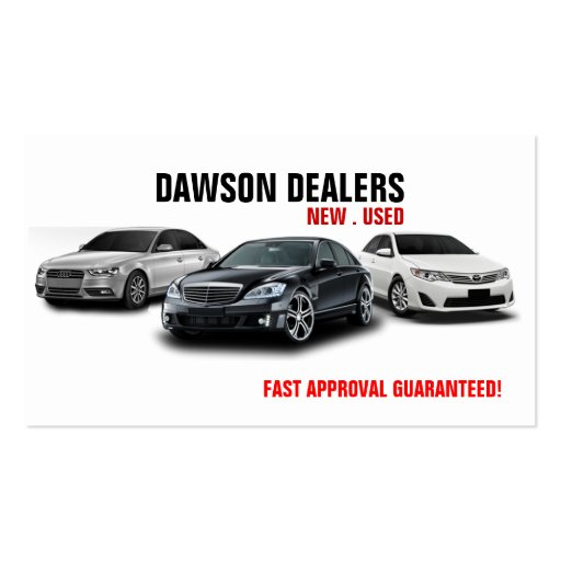 Collections of car dealer business card business cards auto sale dealership cars business card reheart Image collections