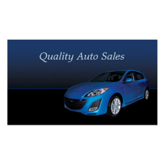 Auto Sales and Service Business Cards