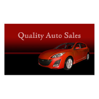Auto Sales and Service Pack Of Standard Business Cards