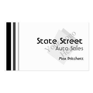 Auto Sales Business Card