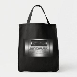 Auto Sales giveaway - faux metal, silver auto Tote Bag