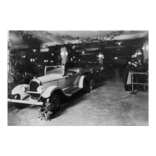 Auto Show, 1920 Print