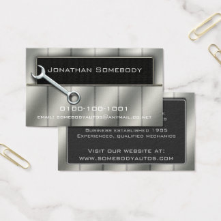 Auto Trade Business Card Template 19