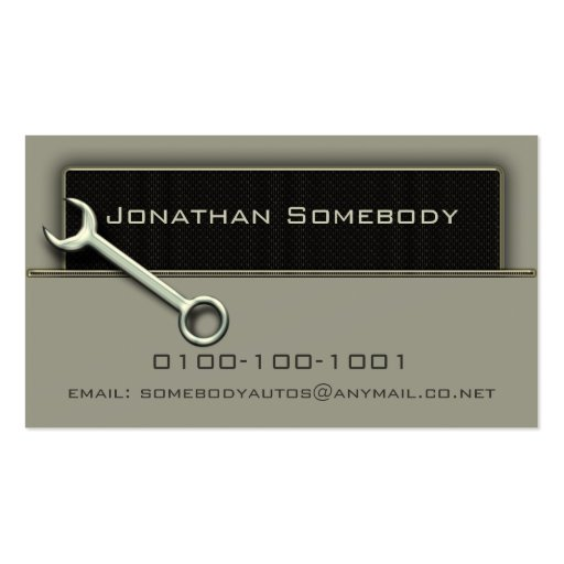 Collections Of Truck Repair Business Cards