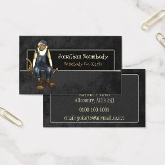 Auto Trade Business Card Template 6