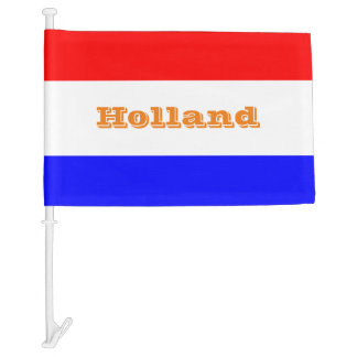 Auto vlag in Rood-Wit-Blauw Car Flag