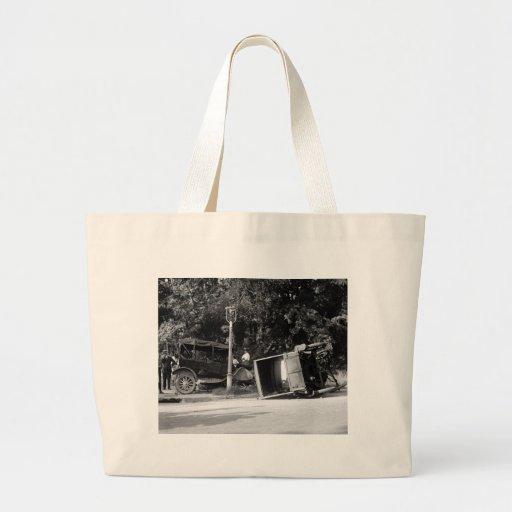Auto Wreck, 1922 Tote Bag