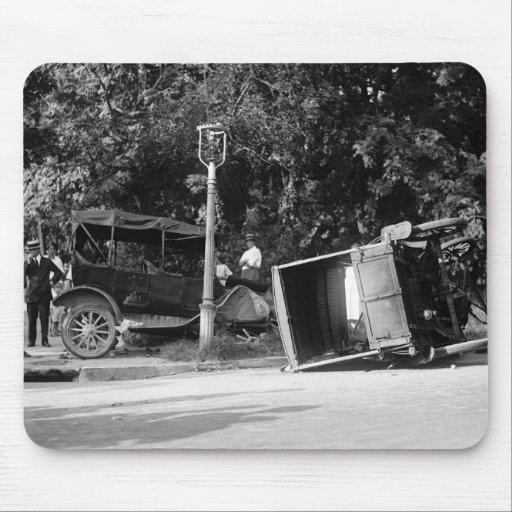 Auto Wreck, 1922 Mousepads