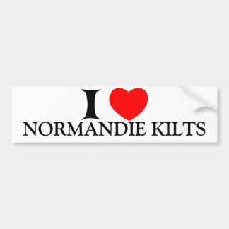 Autoccolant Normandie KILTS Bumper Sticker