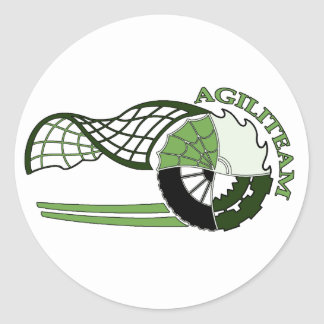 Autocollant AGILITEAM Round Sticker