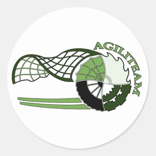 Autocollant AGILITEAM Stickers