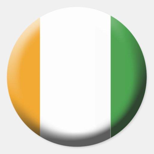 Autocollant Côte d'ivoire Sticker