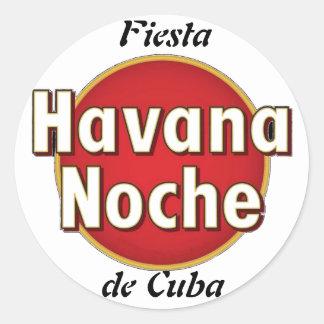 Autocollant Fiesta de Cuba