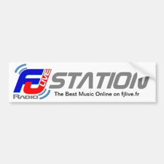 Autocollant FJ Live Radio Bumper Sticker