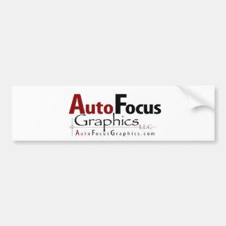 AutoFocus Graphics Bumper Sticker