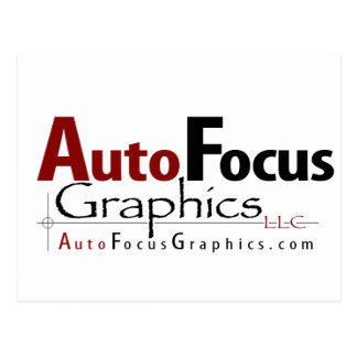 AutoFocus Graphics Postcard