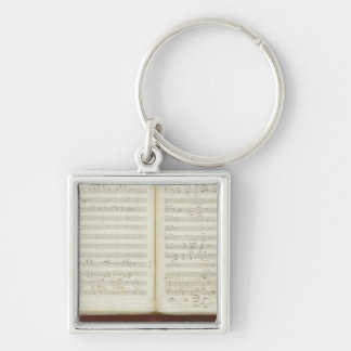 Autograph copy of 'The Magic Flute' Key Ring