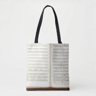 Autograph copy of 'The Magic Flute' Tote Bag