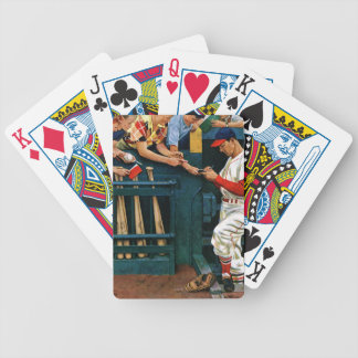 Autograph Session Bicycle Playing Cards
