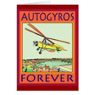 Autogyros Forever Card