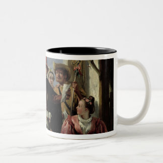 Autolycus, scene from 'A Winter's Tale', 1836 (oil Two-Tone Coffee Mug