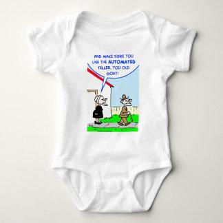 automated teller baby bodysuit