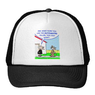 automated teller cap