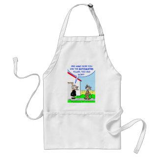 automated teller standard apron