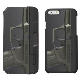 Automatic Hand Gun Incipio Watson™ iPhone 6 Wallet Case