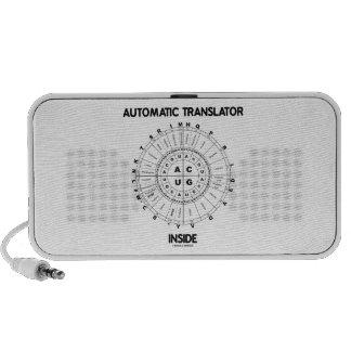 Automatic Translator Inside (RNA Codon Wheel) Speaker