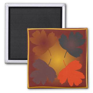 automne square magnet