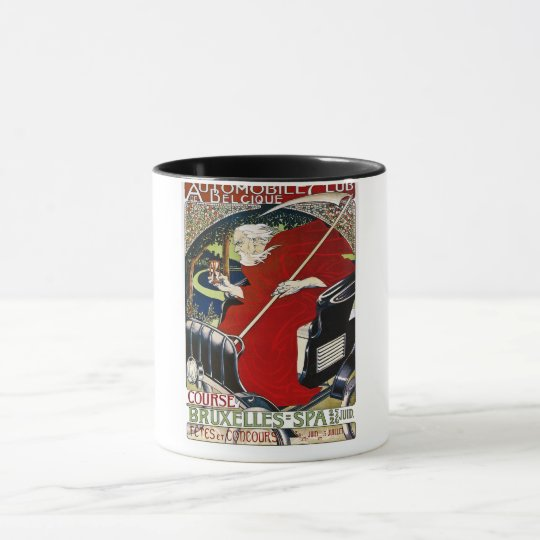 Automobile Club De Belcique - Vintage Mug