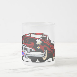 Automobile Frosted Glass Mug