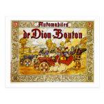 Automobiles de Dion-Bouton Post Card